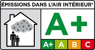 Ламинат соответствует выделению вредных веществ эмиссии A+.