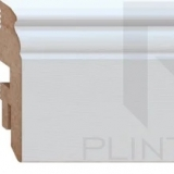 Плинтус напольный МДФ (MDF) Plintto Classic Virgin 90 фото