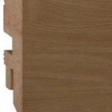 Плинтус напольный МДФ (MDF) Plintto Loft Real Oak фото