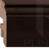 Плинтус напольный МДФ (MDF) Plintto Classic Thermo Oak 90 фото